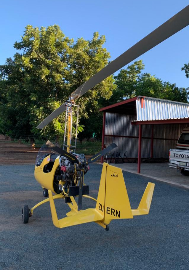 Gyrocopter Ela08
