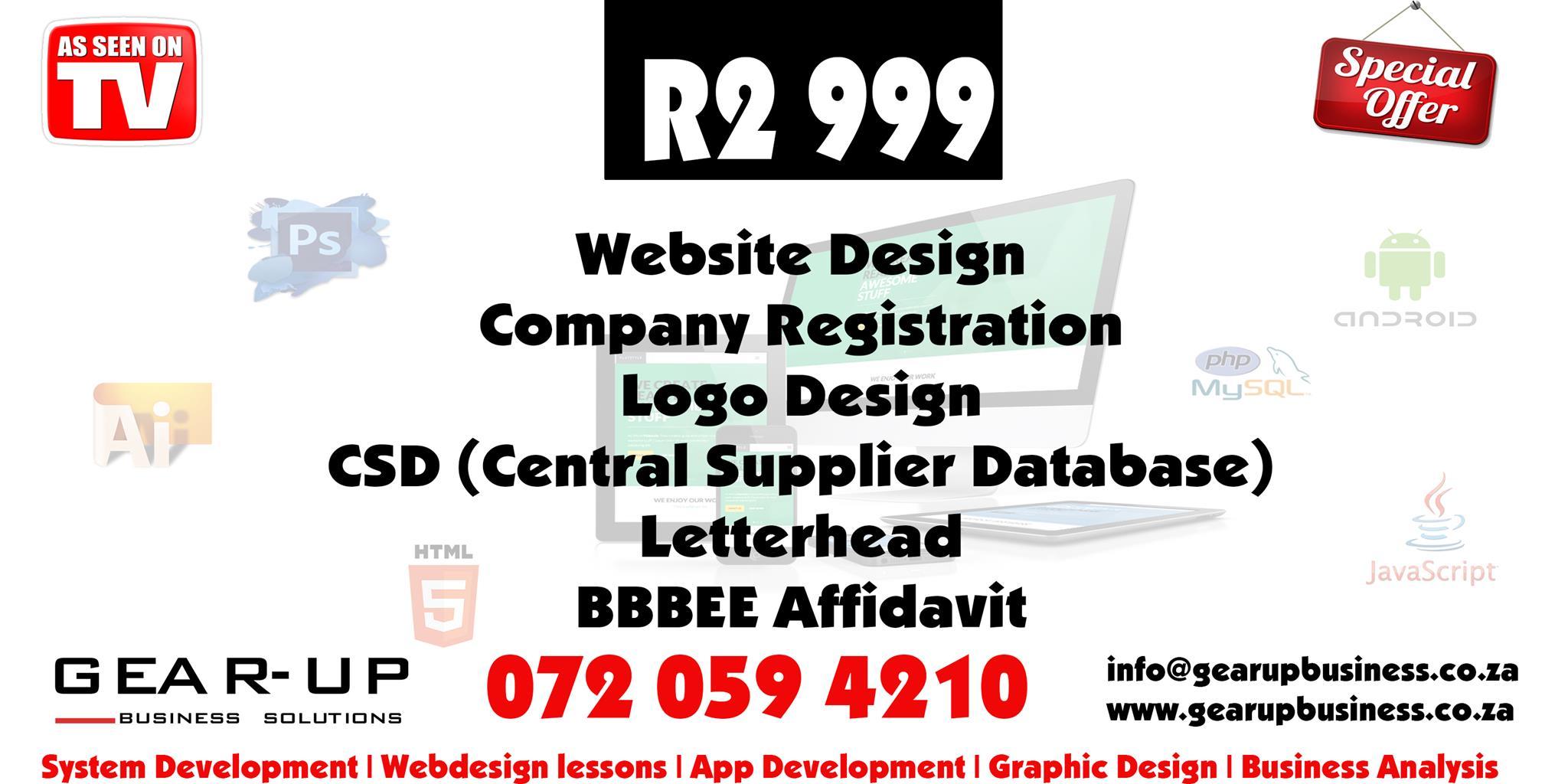 072 059 4210 Company Profile , Company Registration, Logo, Web design