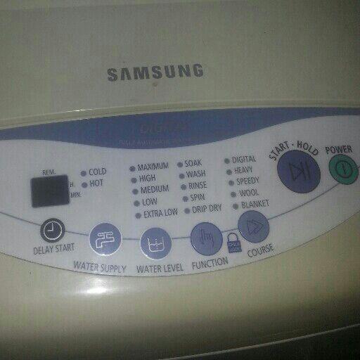 Washing machine toploader large samsung