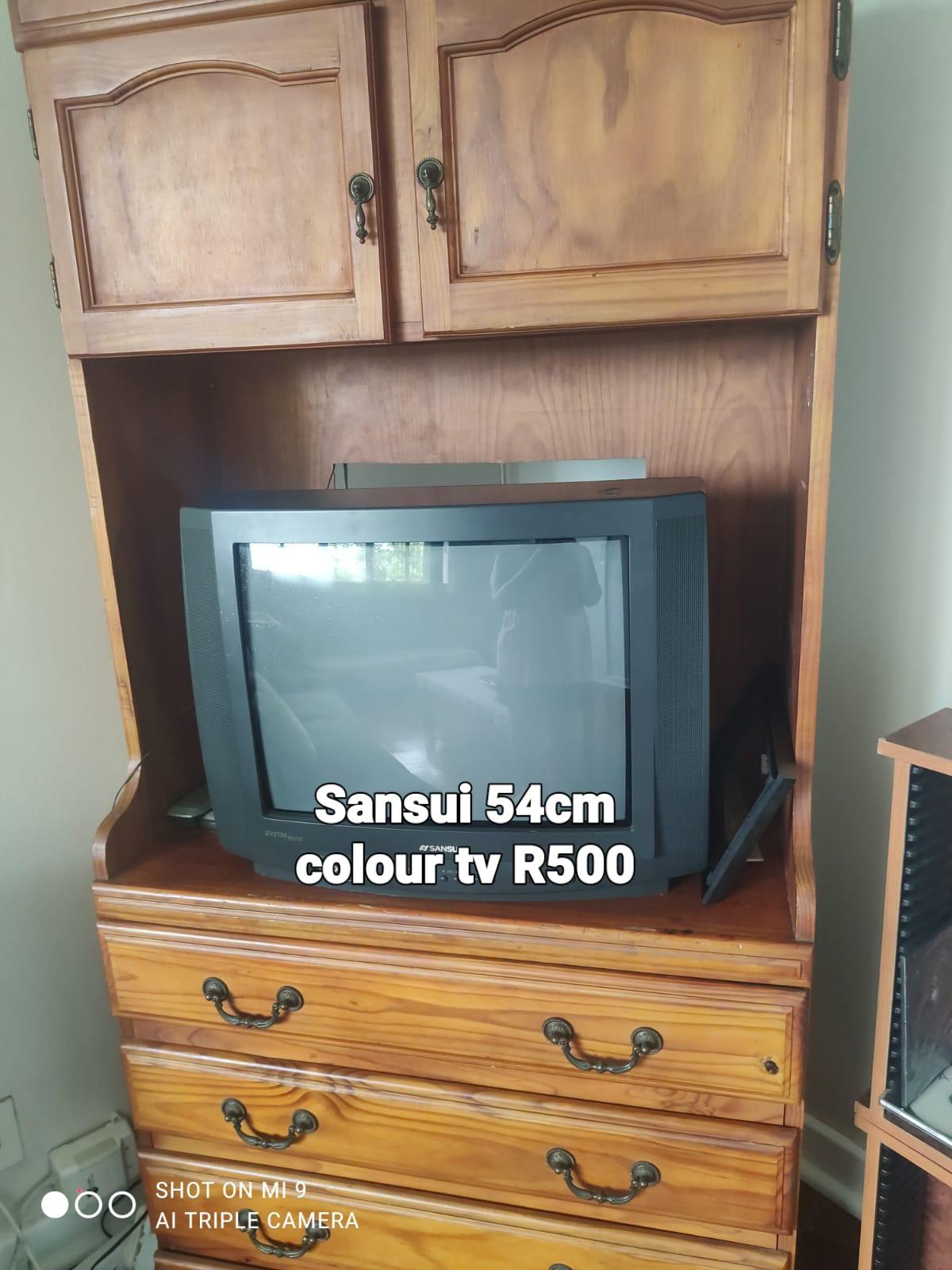Sansui 54cm colour tv... Box type
