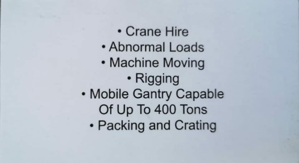 Samson Rigging & Crane Hire