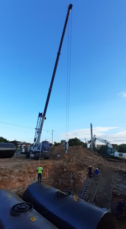 VerticalZA Mobile Crane SENNEBOGEN 643 M – 30m  40 tons Mobile Crane