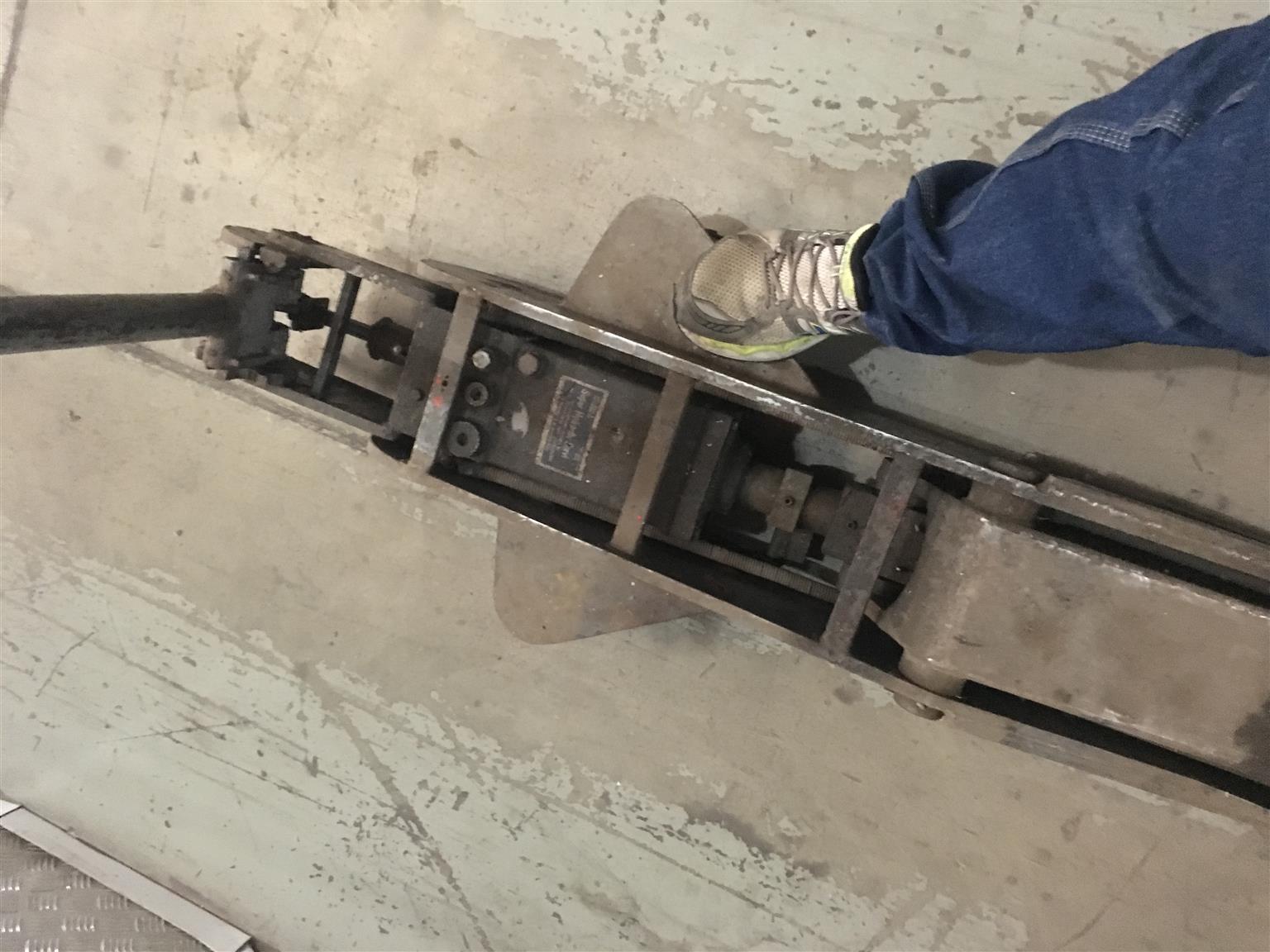 Hydraulic trolley jack heavy duty 10 T Bradbury