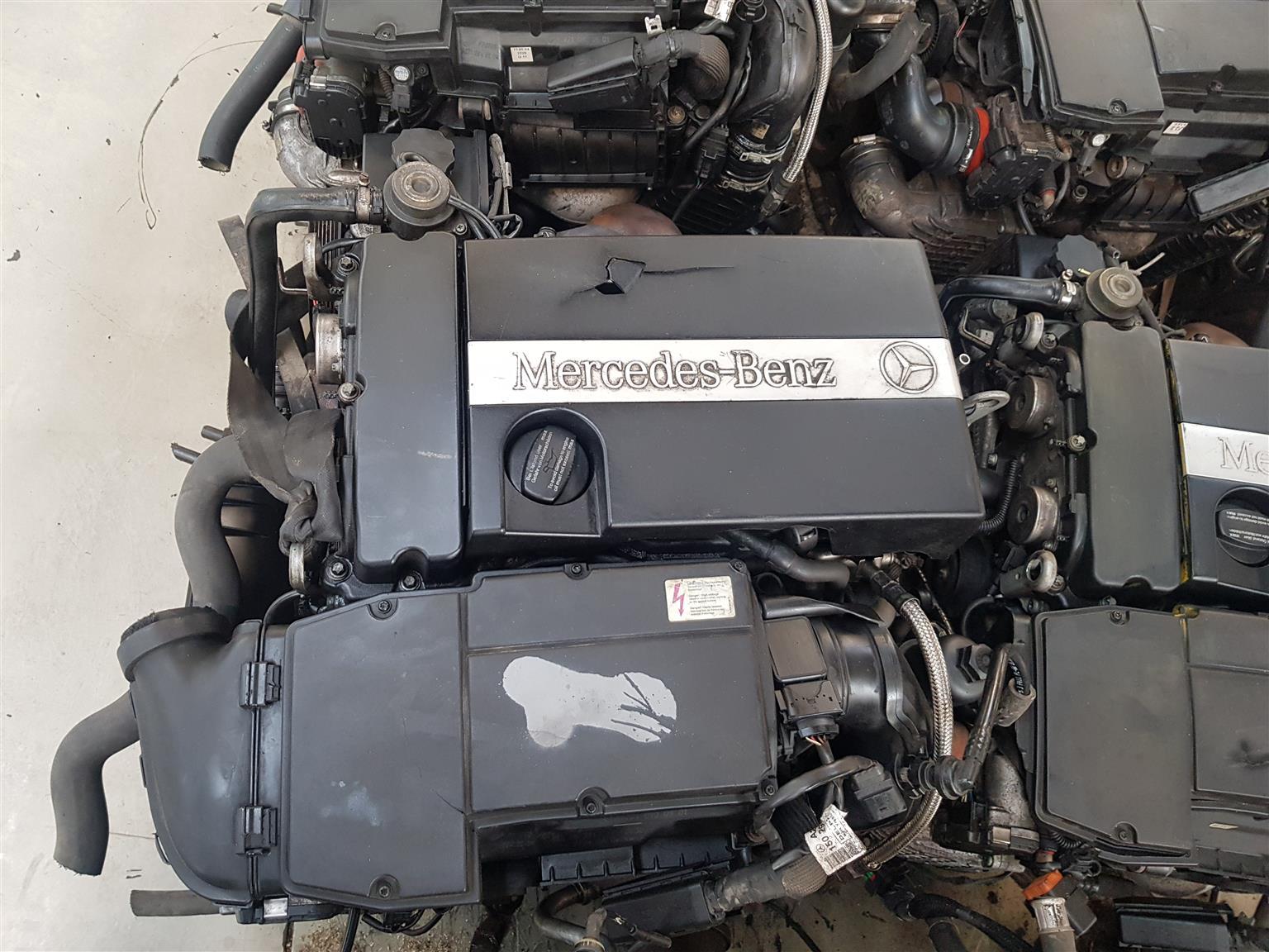 MERCEDES BENZ C200 C180 KOMPRESSOR ENGINE (271)