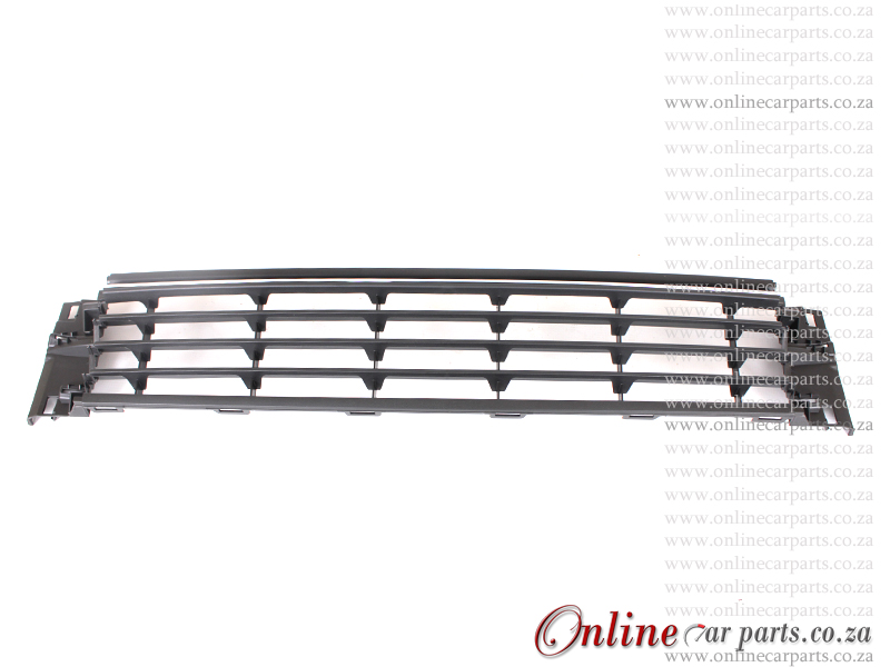 VW Polo MK III Hatchback Front Bumper Grille With CP Moulding Center P3 2014-