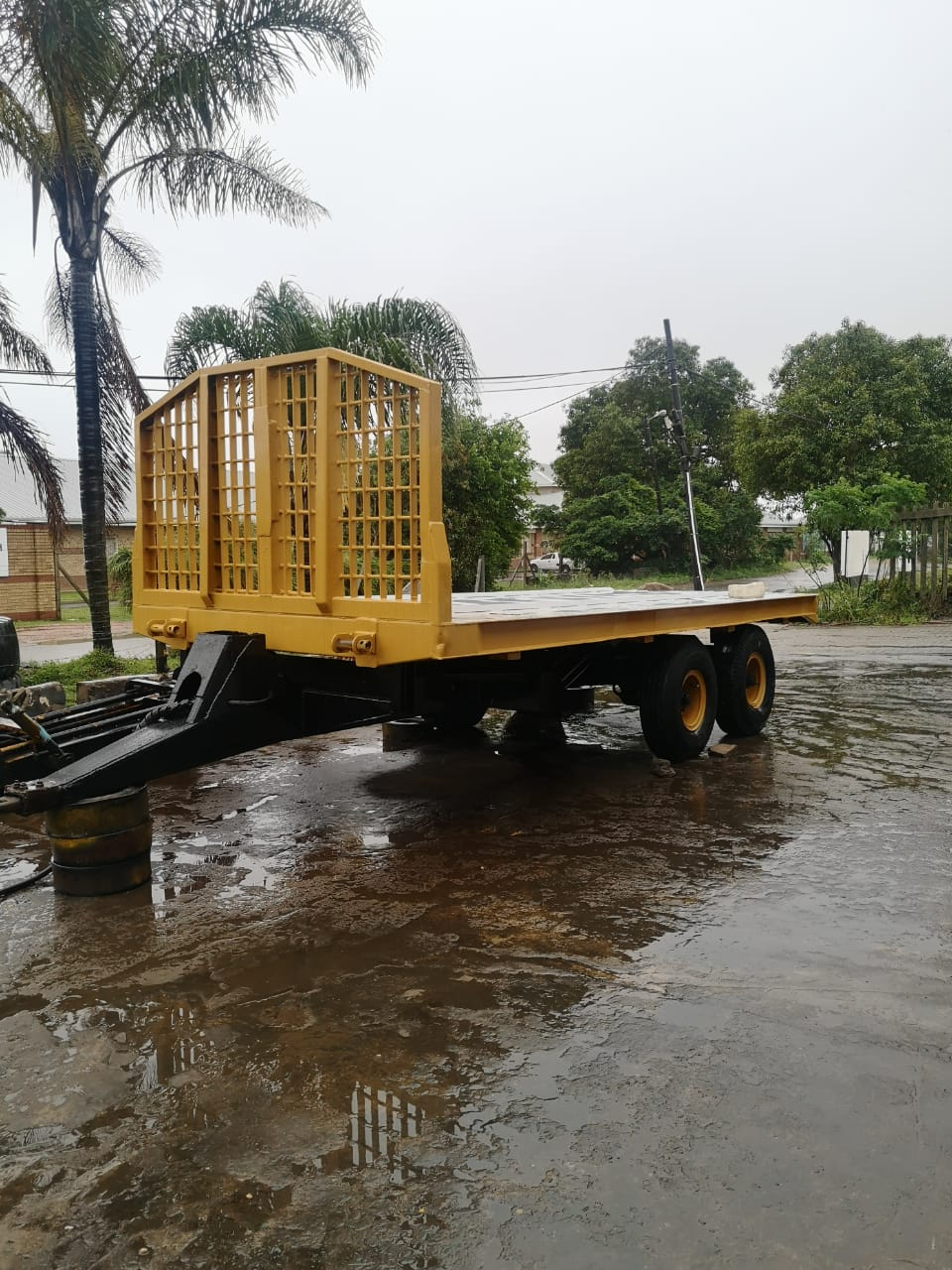 Unipower 18 ton trailer