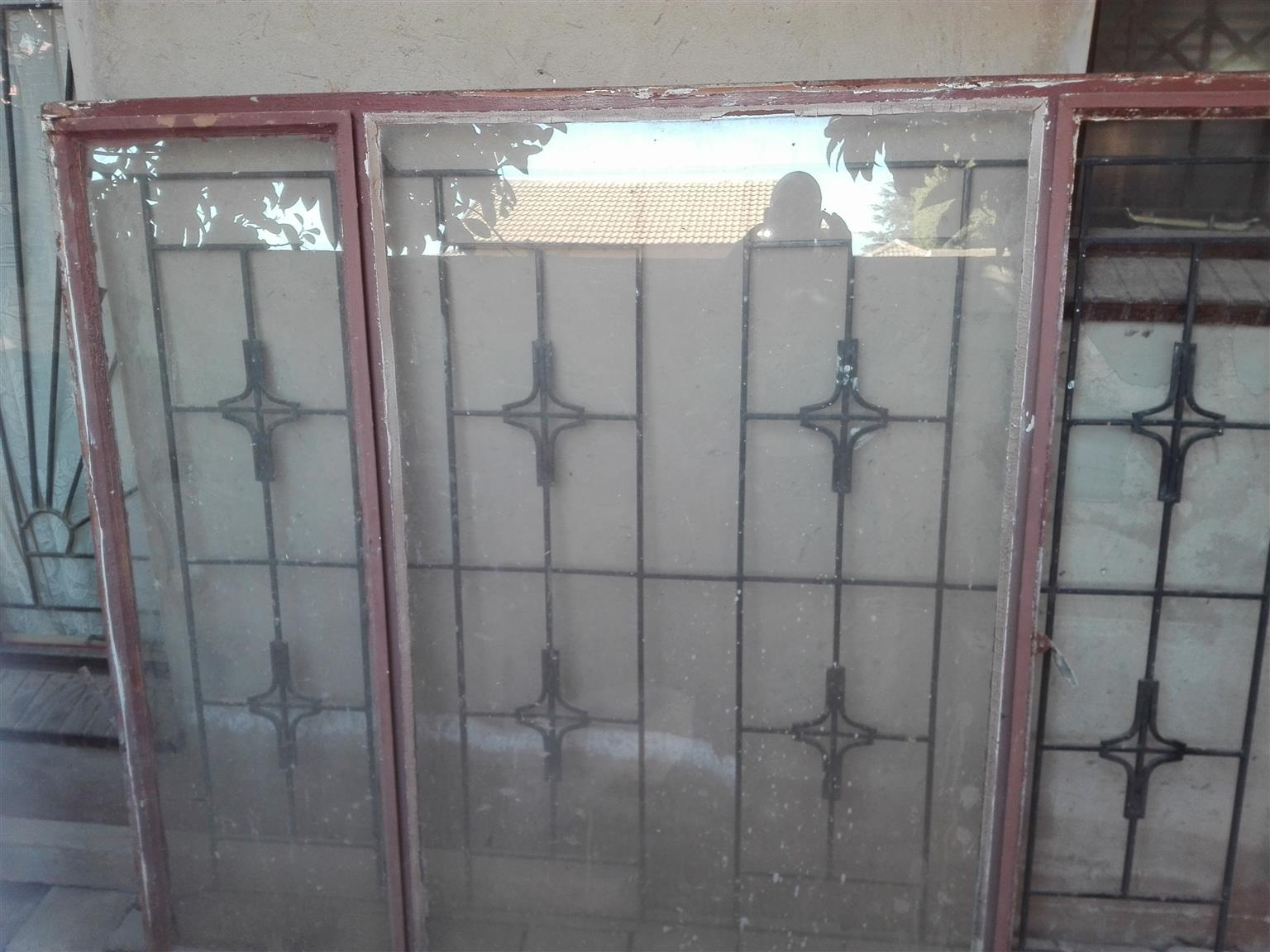 Window Frame Junk Mail