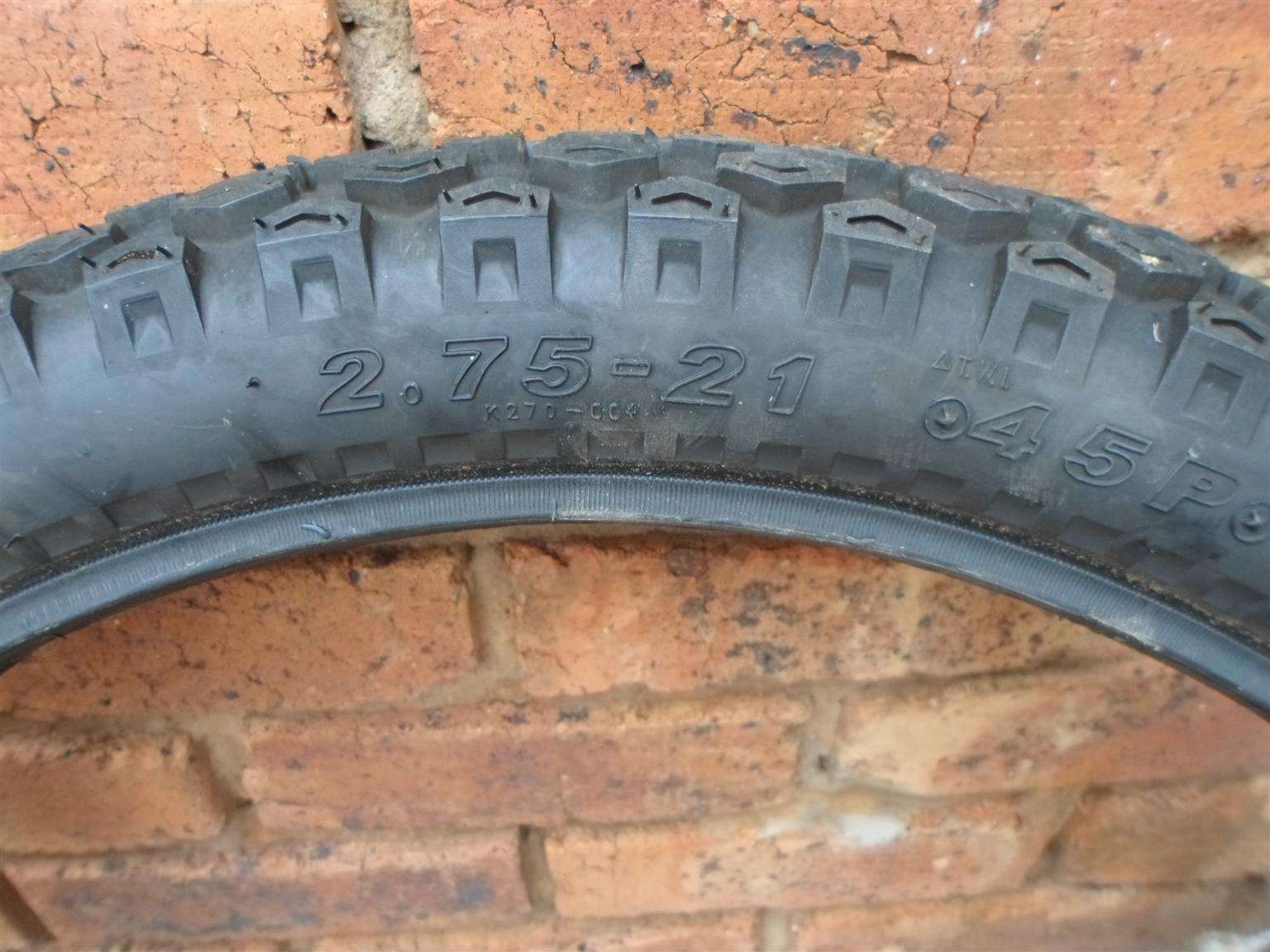 Dual Purpose Tyres