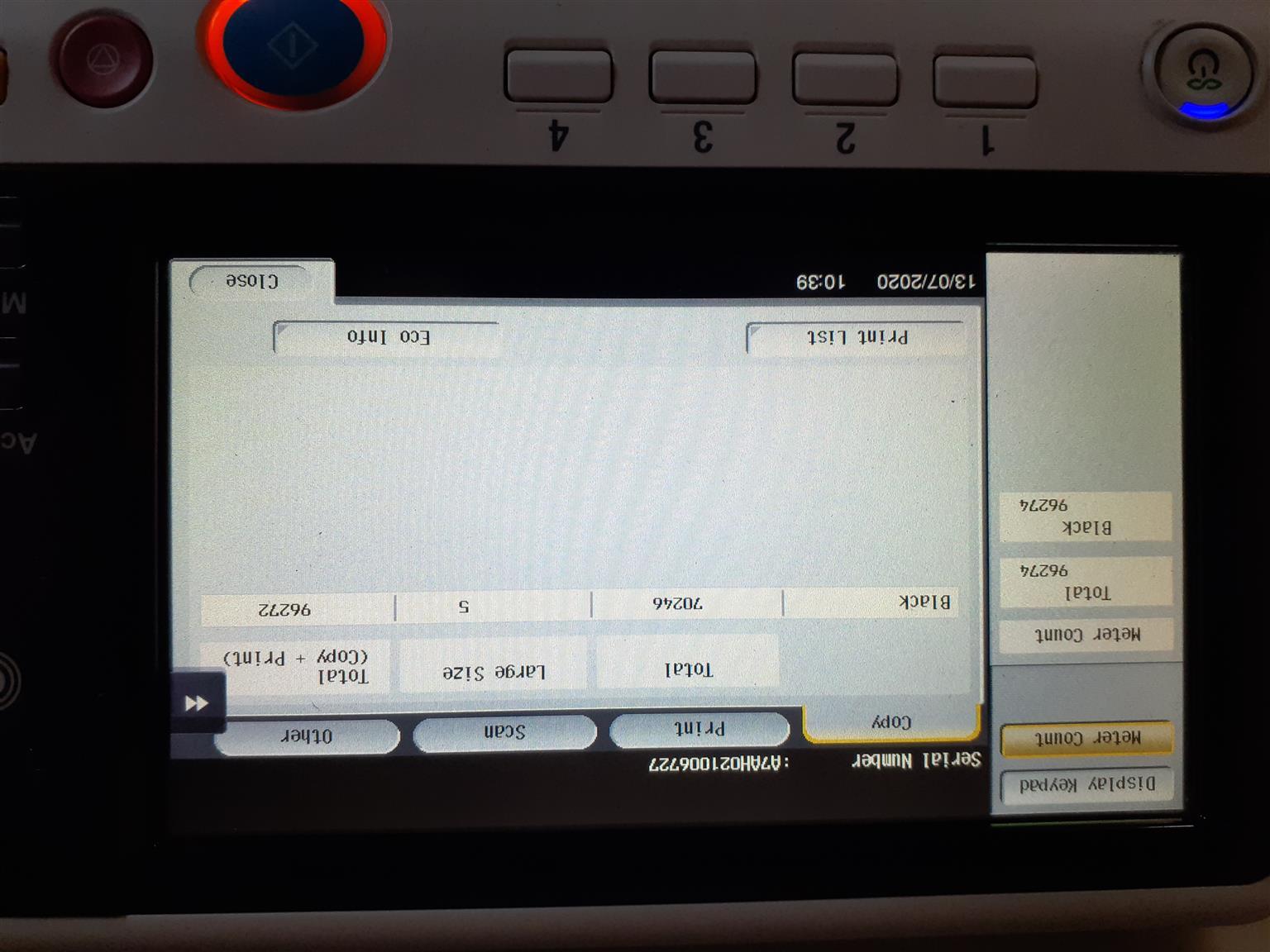Photocopy maschine