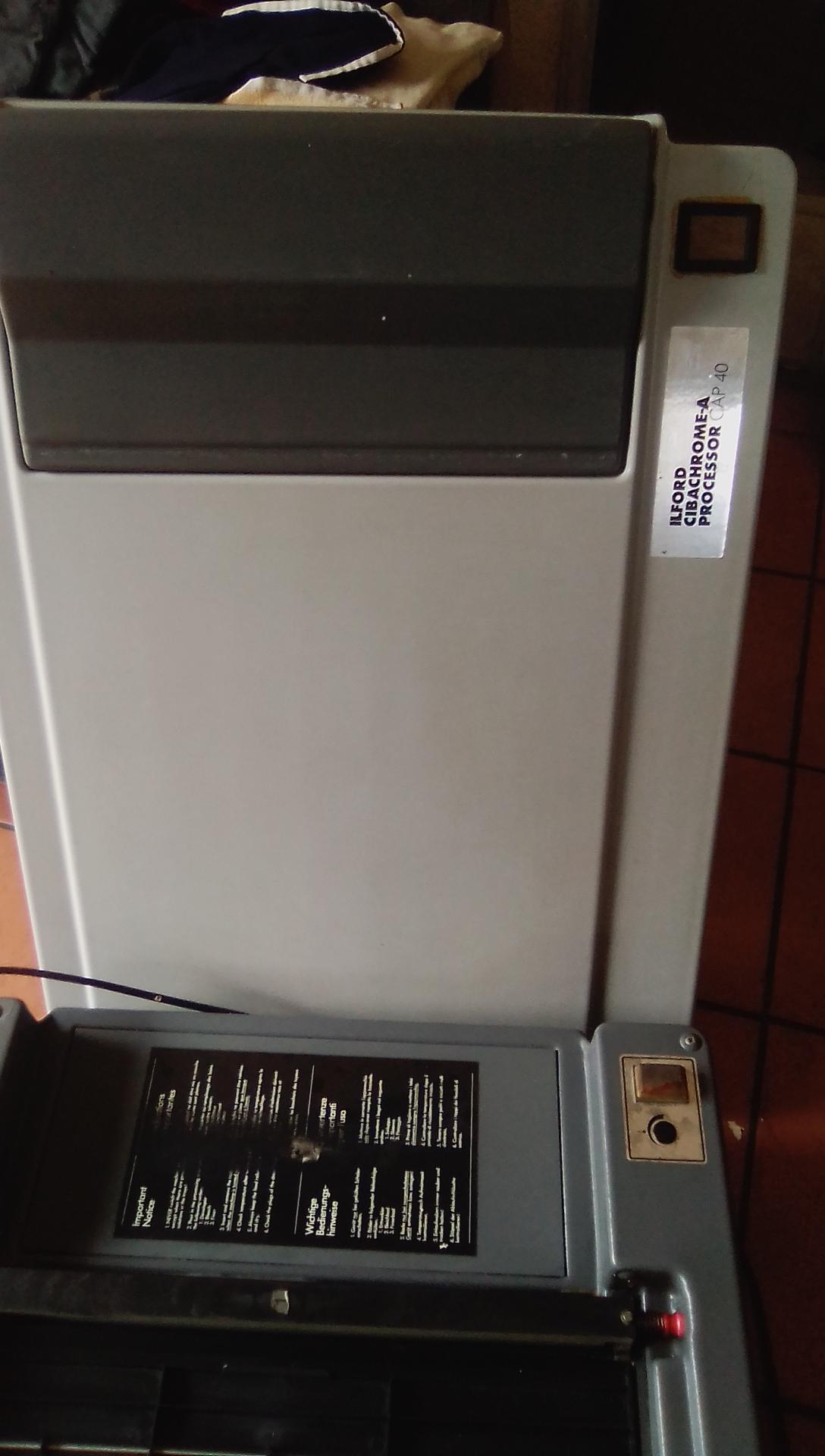 Ilford cibachrome-a processor cap40