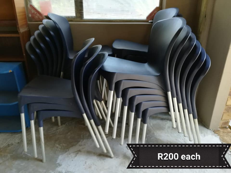Dark blue chairs for sale