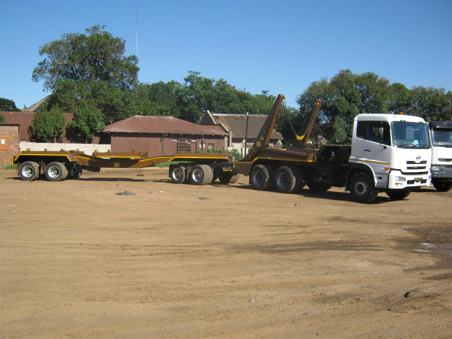 Mint skip trailers. we make them really strong and well.