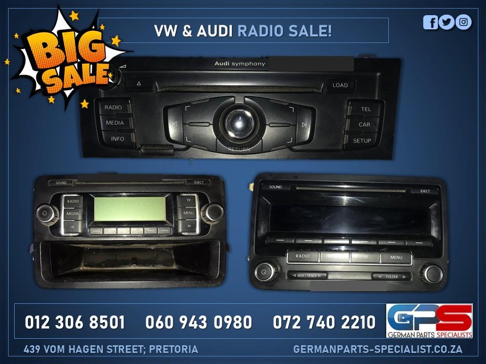 Car Radio Sale! Volkswagen and Audi