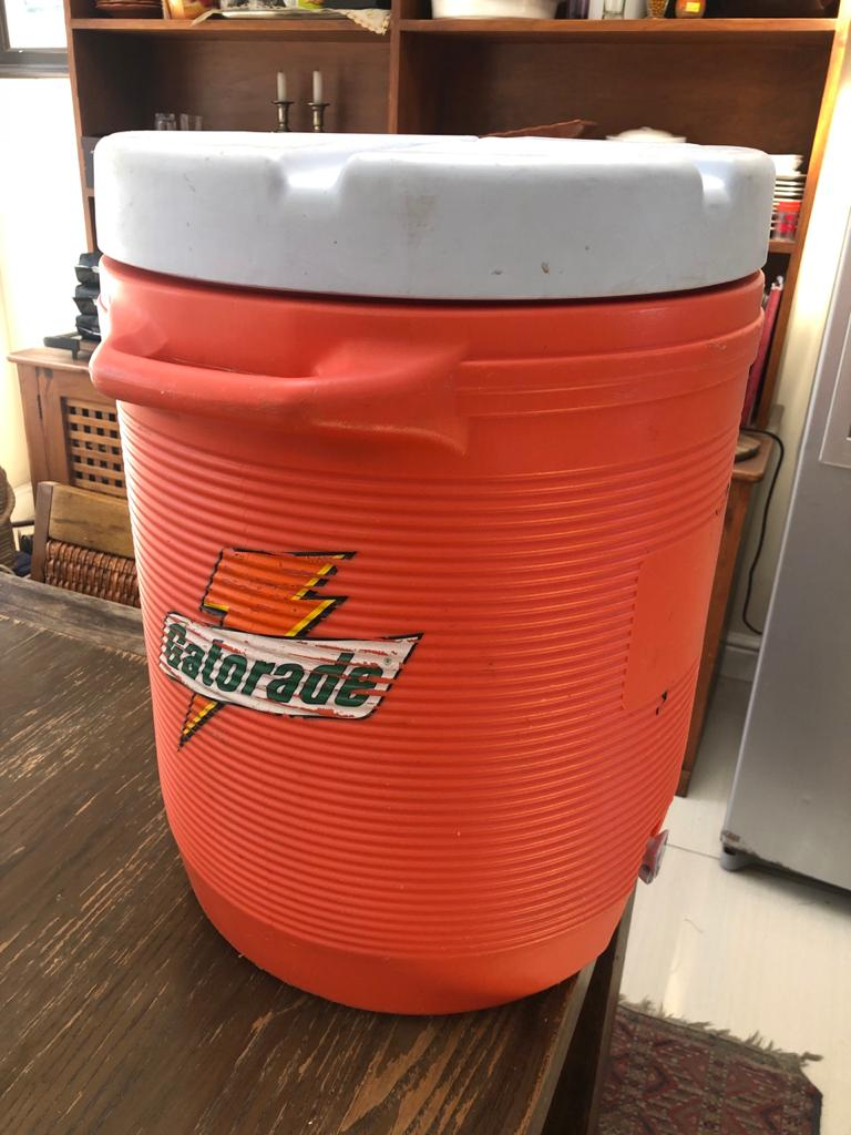 Iconic Gatorade 10 Gallon (approx. 40 Litre) Water Cooler tank with tap