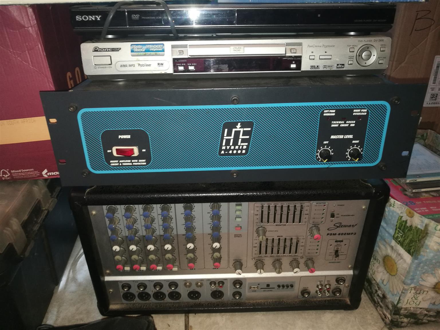 Mobile disco karaoke system