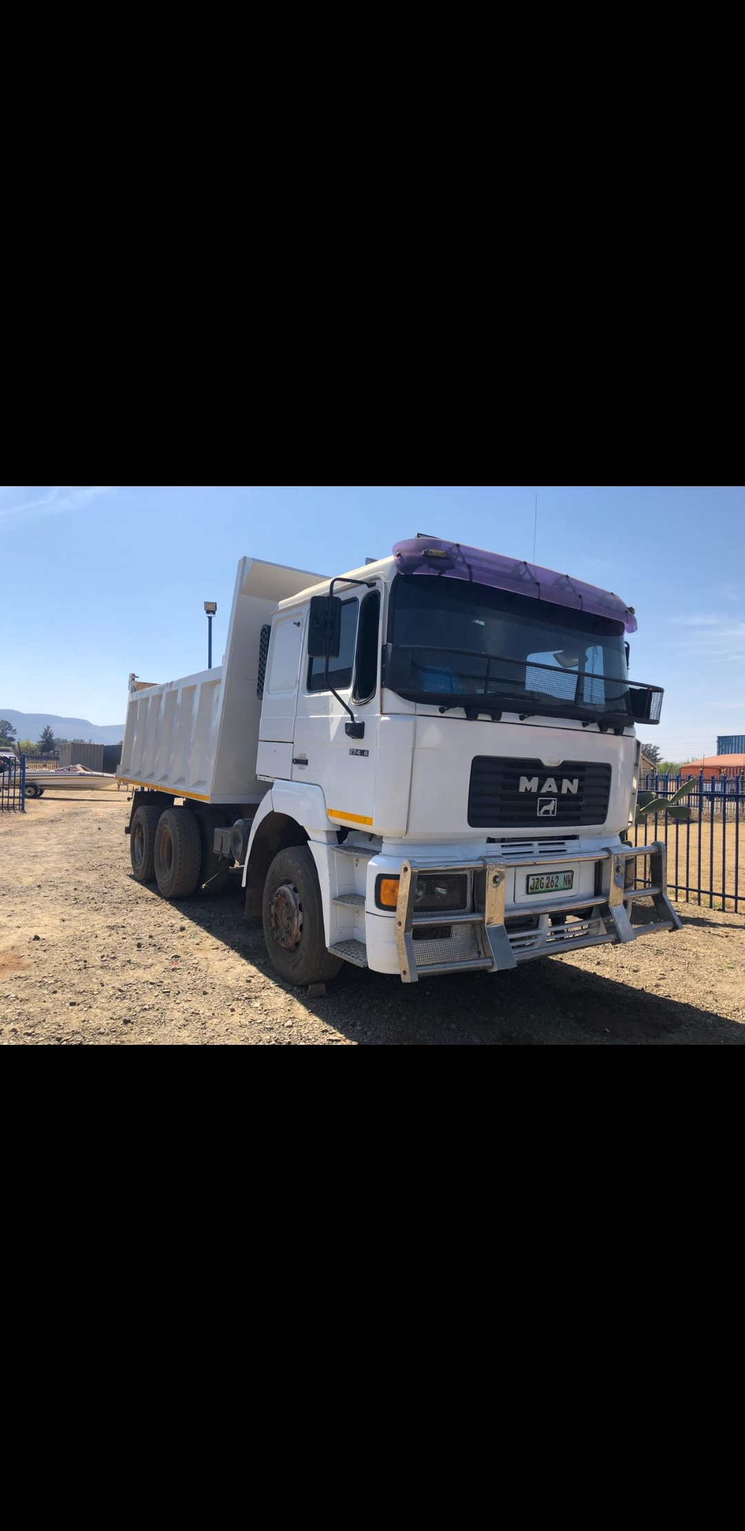 Man Tipper Truck For Sale