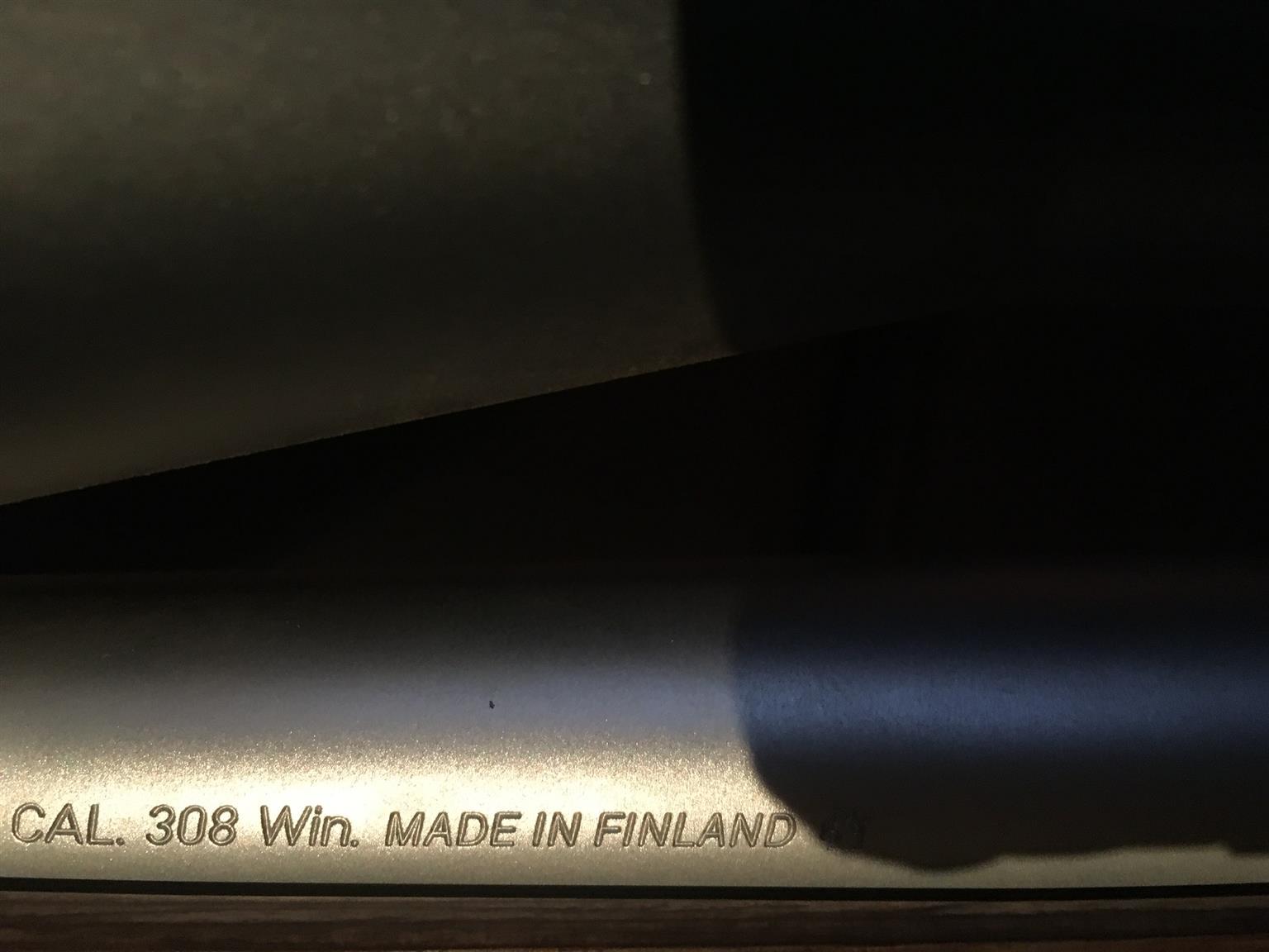 Sako Model 85, Stainless Fluted .308