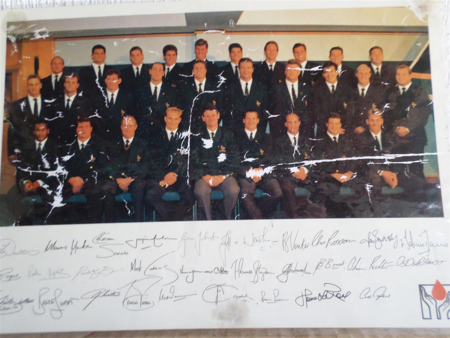 1995 RUGBY WORLD CUP  MEMORABILIA - 25 YEARS !!!