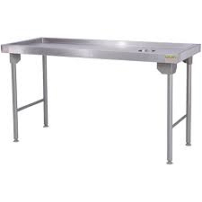 Stainless steel table 1.7m