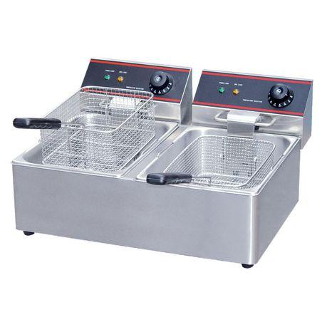 Fryer Electric Double DEF4 2X8LT