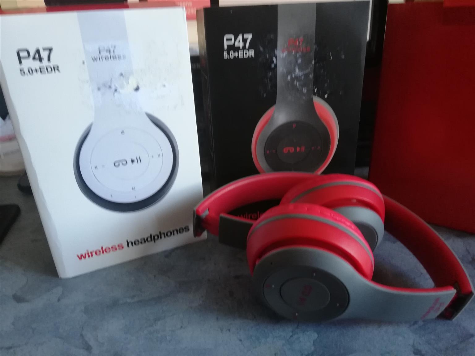 P47 Wireless (bluetooth) Headphones