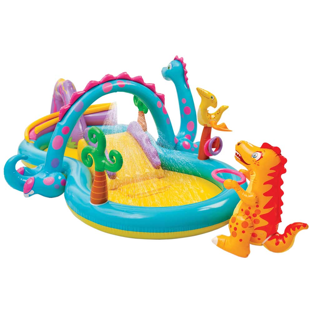 Dino play centre pool