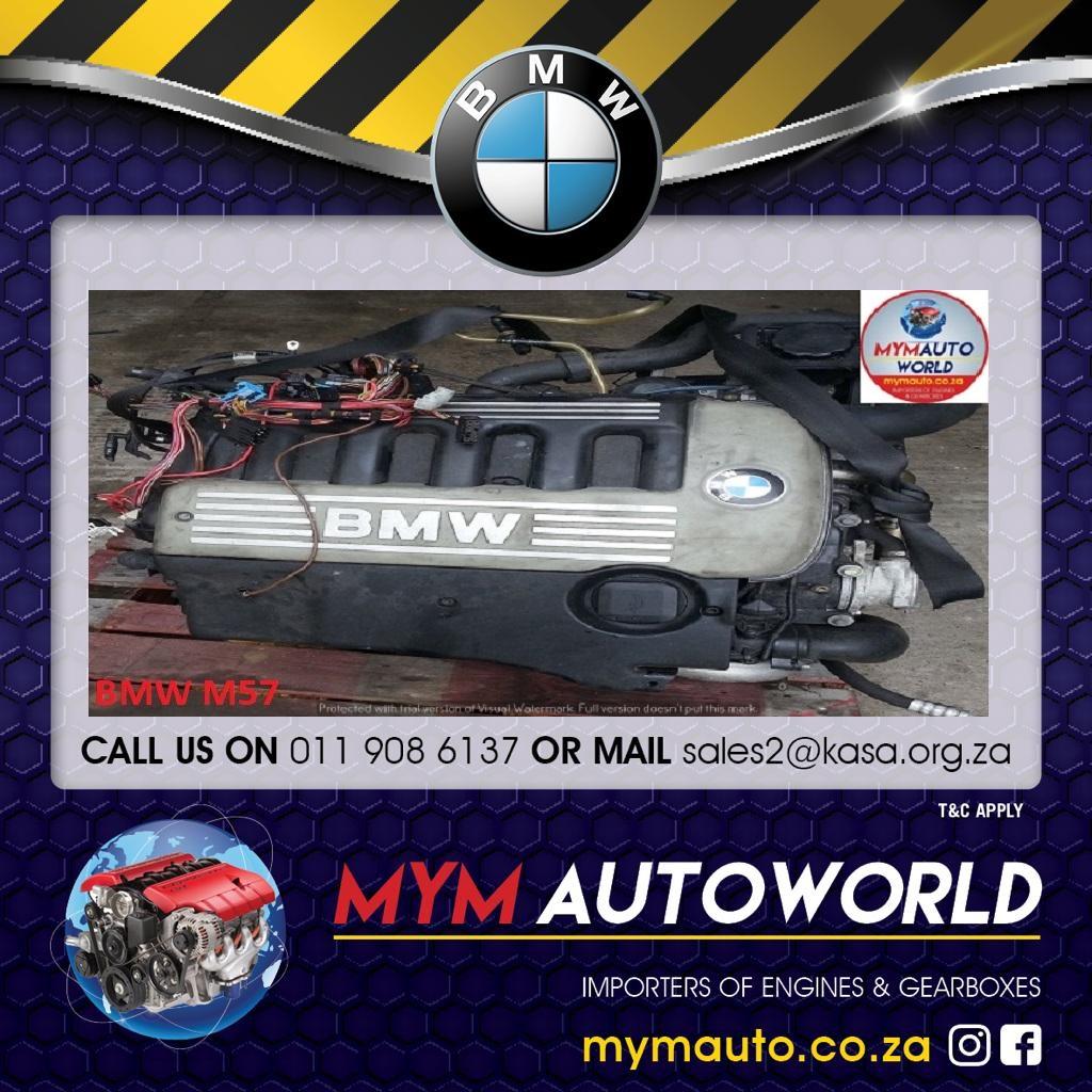 BMW E60/E90 6 CYLINDER DOHC 24V DIESEL ENGINE