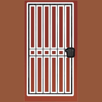Security Steel Gate