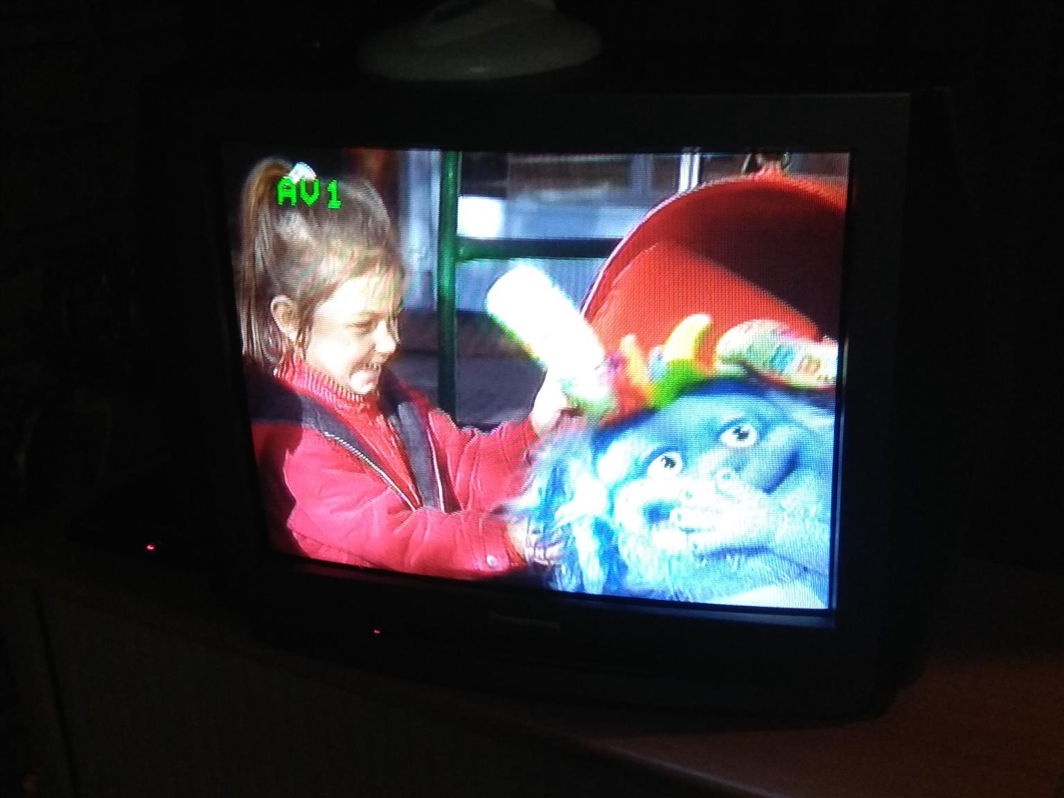 Panasonic box's TV.