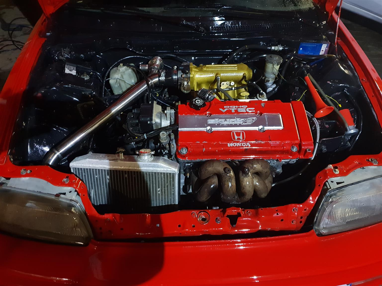 B16A vtec engine and gearbox   Junk Mail