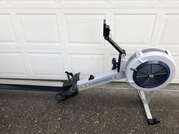 Concept 2 Model D >> Concept 2 Model D Rower Machine With Pm5 Monitor Junk Mail