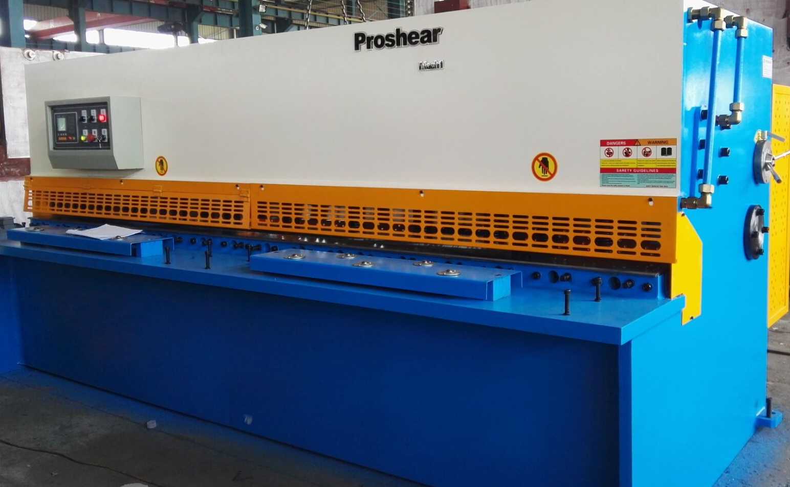 Proshear Hydraulic Guillotine 6mm x 3200mm