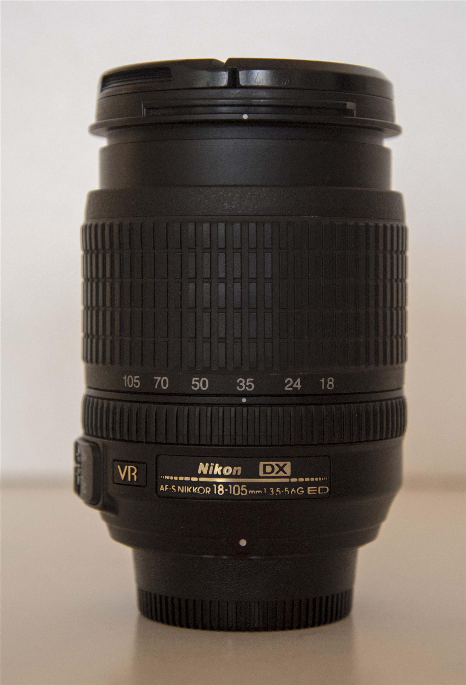 Nikon 18-105 mm. lens