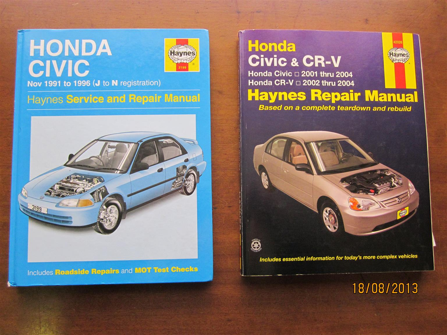Motorcar Manuals Honda Civic