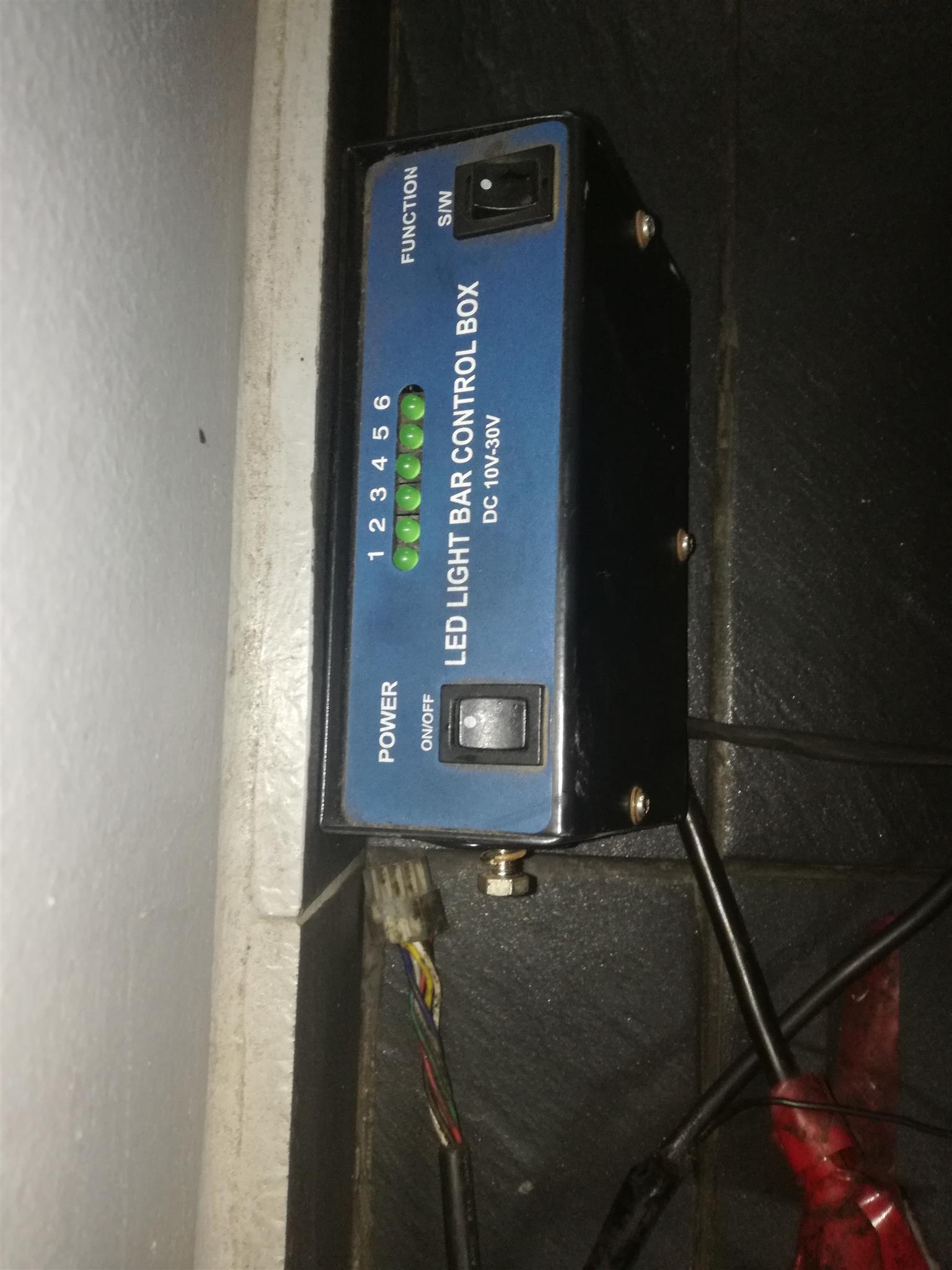 nissan np300 bar lights and box for sale