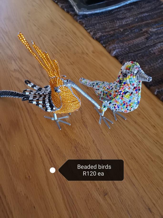Beaded Birds