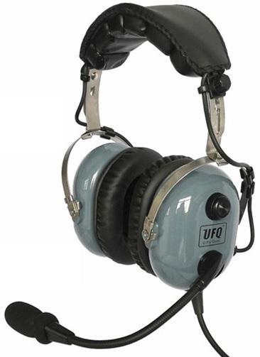 UFQ A28 ANR AVIATION HEADSET