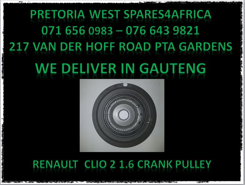 Renault crankshaft pulley for sale