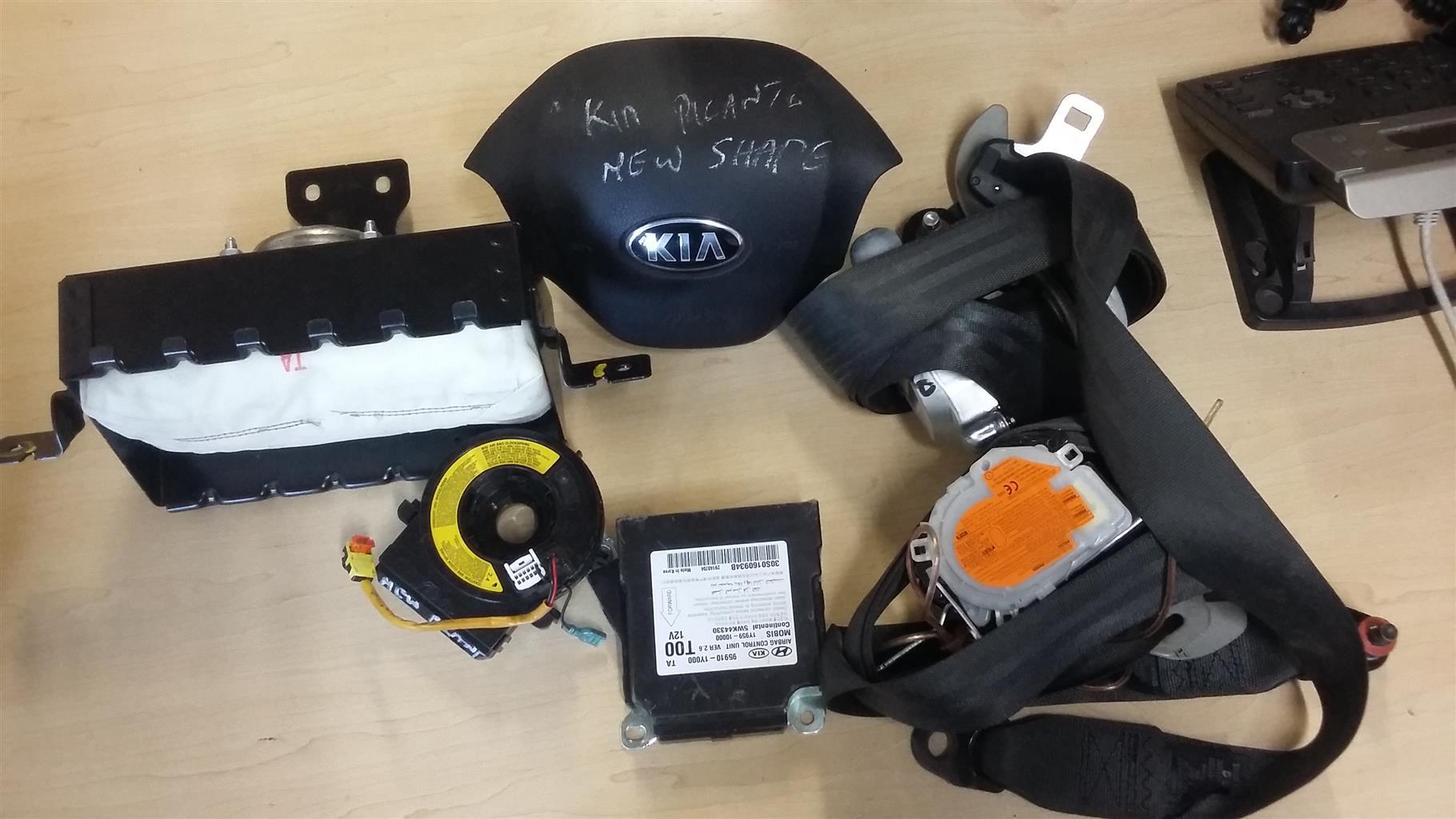 Kia Picanto Complete Air Bag set