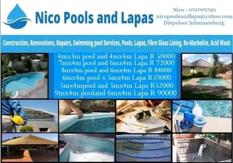 Nico Pools and Lapas