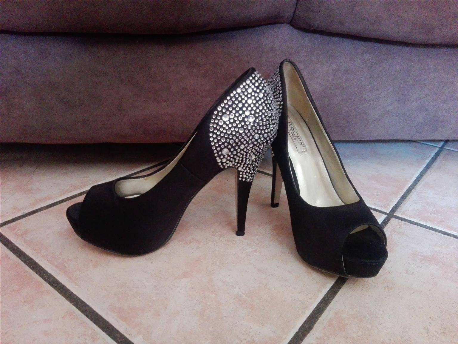 2a9d1d77d873 2 pairs ladies platform shoes size 6