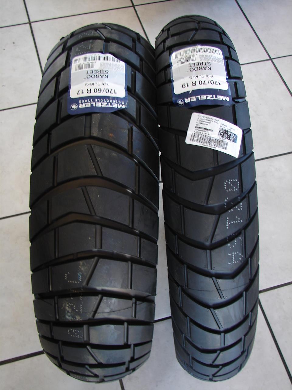 170//60R-17 METZELER Karoo Street Rear Tire