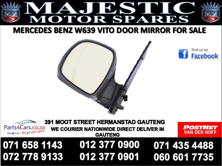Mercedes benz w639 vito door mirror for sale