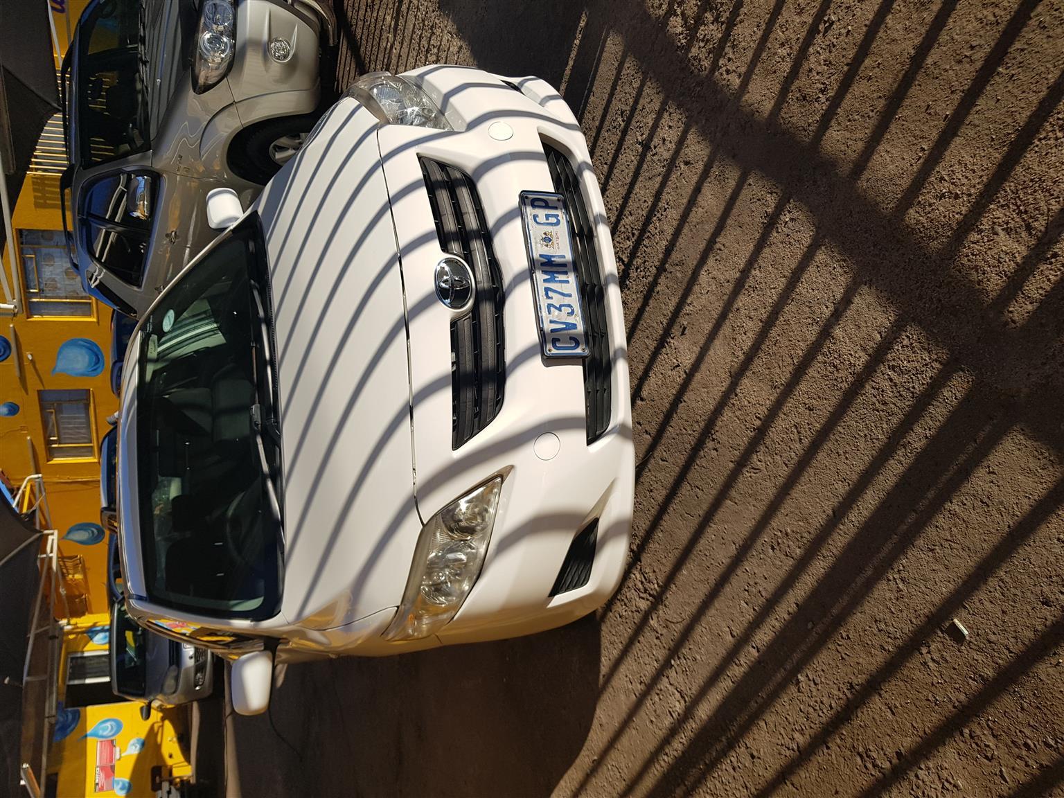 2009 Toyota Corolla 1.3 Advanced