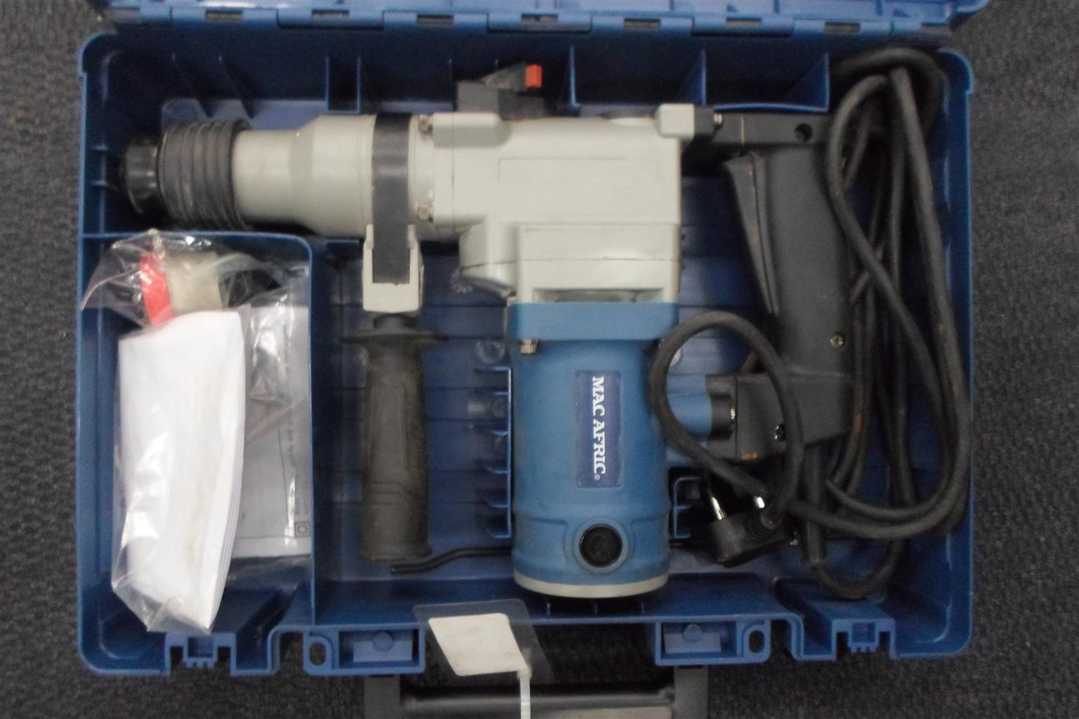 960W Mac Afric SDRILR-030 Drill