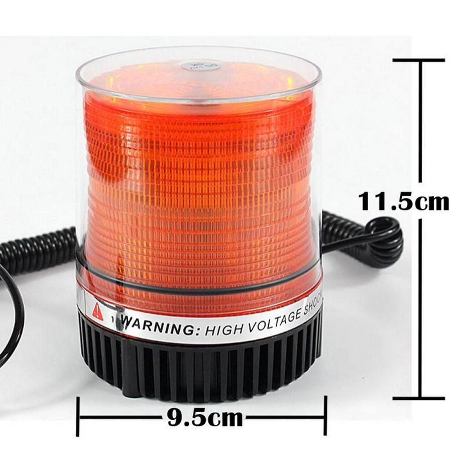 Green/amber Magnetic Roof Strobe – Beacon