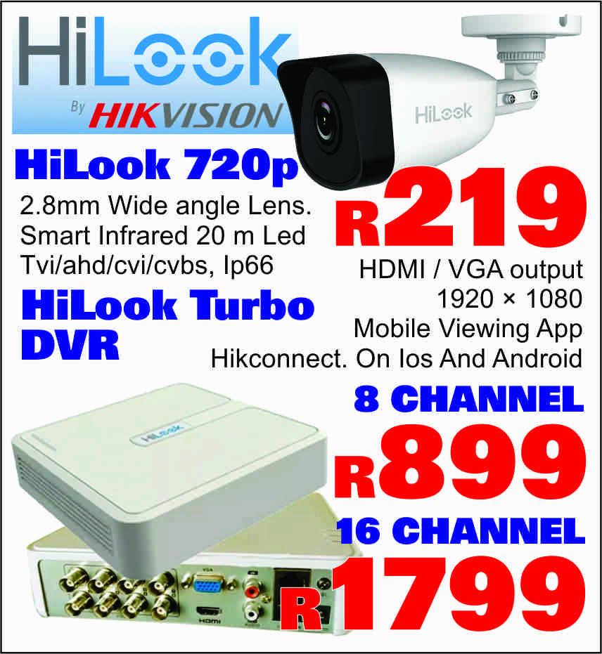 CCTV HIKVISION, HILOOK
