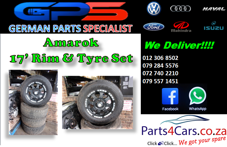 VW Amarok 17' Rim & Tyre Set