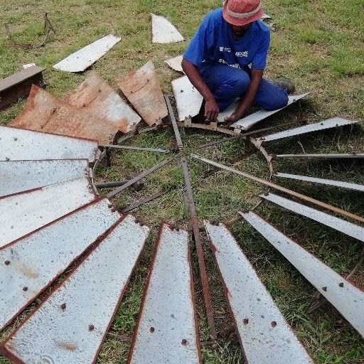 Windpomp herstelwerke