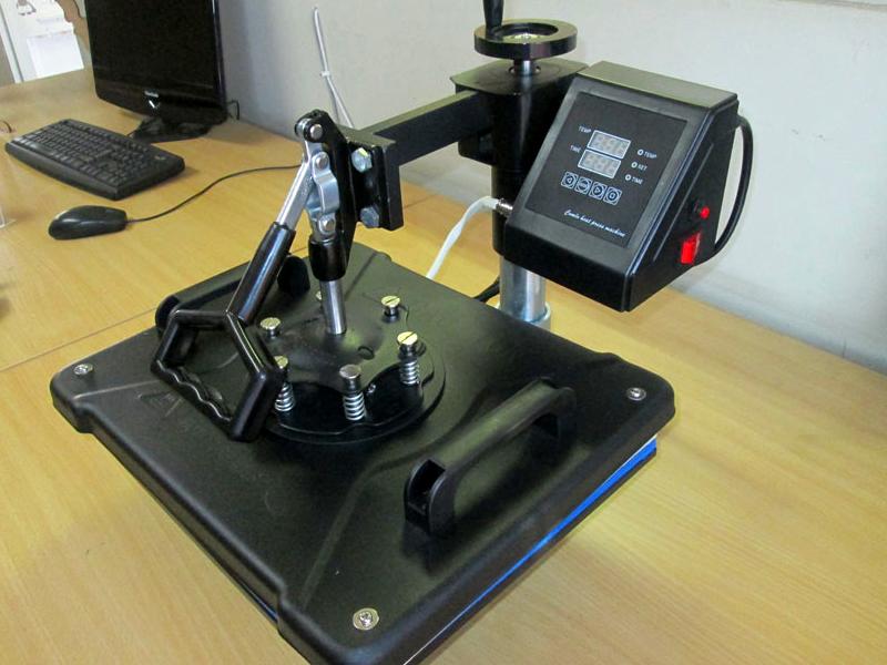 H-PRESS/MT9 Heatware MT9 1400W Heat Press Multitalent, Flat Heating Press, Shoe Press